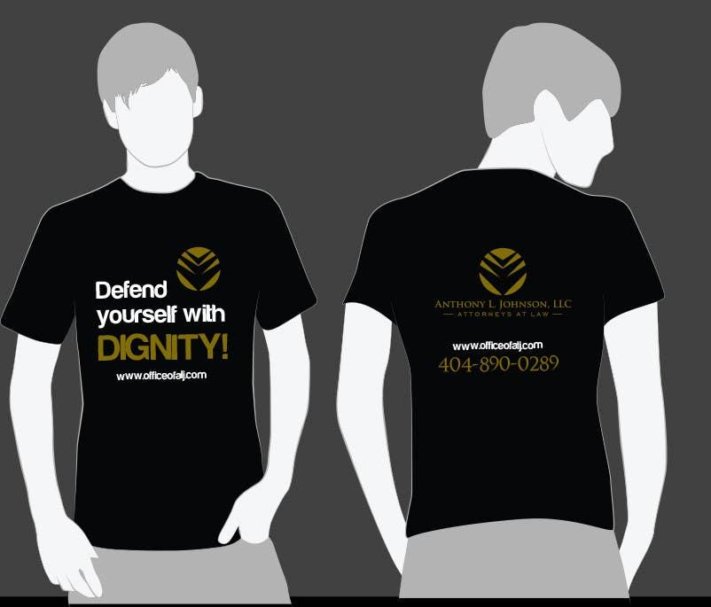 Bài tham dự cuộc thi #                                        17                                      cho                                         Design a Trendy T-Shirt for a Law Firm