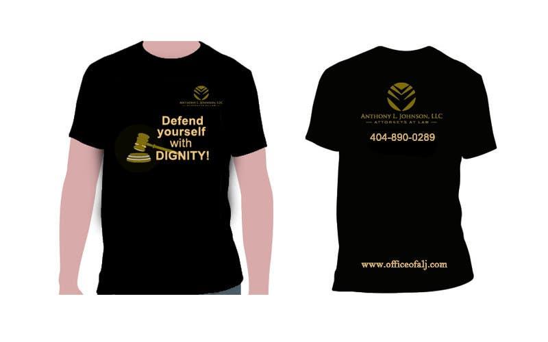 Bài tham dự cuộc thi #                                        48                                      cho                                         Design a Trendy T-Shirt for a Law Firm