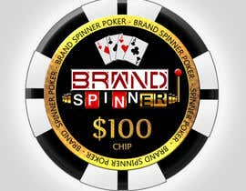 #16 para QUICK 1-2 DAY - Design a Poker Chip por AndyBrandon