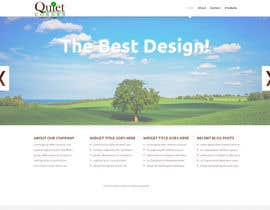 #5 untuk Build a Website home page template for Quiet Corner Landscapers oleh kunalll