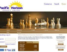 nº 11 pour Website Design for Pacific Horizon Credit Union par twistedpix