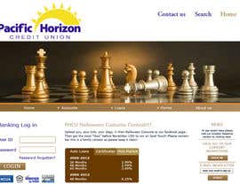 nº 10 pour Website Design for Pacific Horizon Credit Union par twistedpix