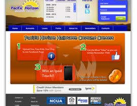 nº 44 pour Website Design for Pacific Horizon Credit Union par rodannr