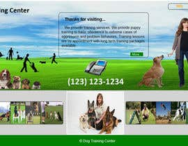 #10 untuk Urgent design for Dog trainer website oleh sanjay1208