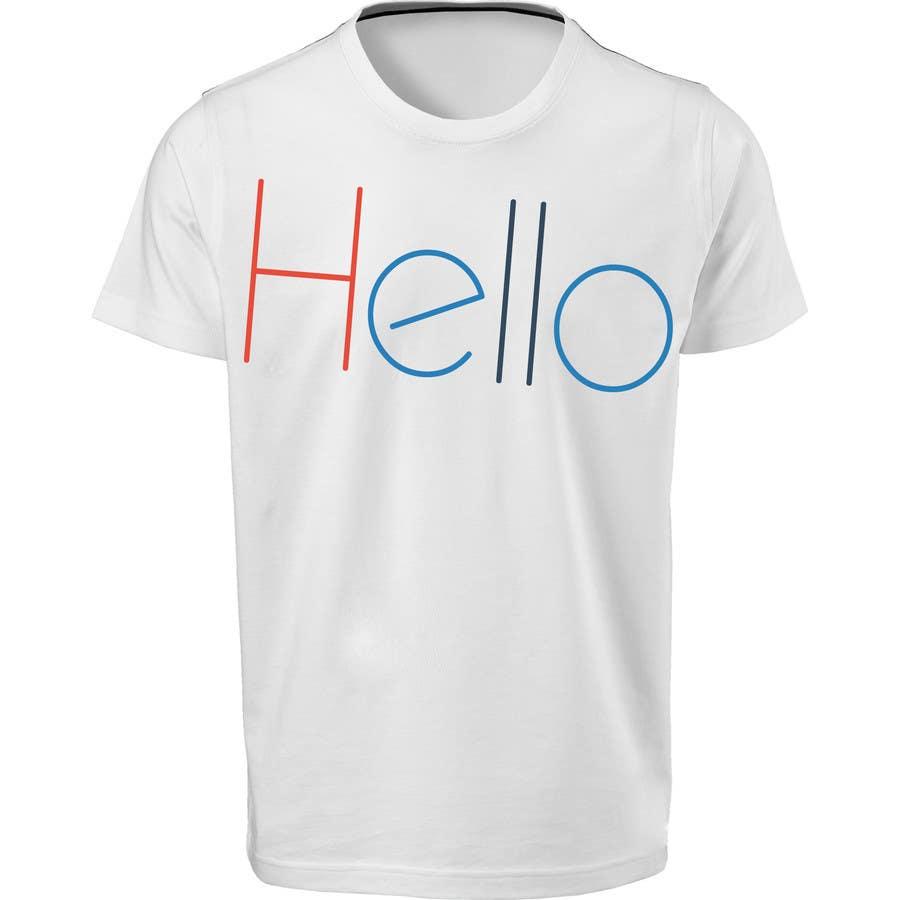 Inscrição nº 69 do Concurso para TC - Design a T-Shirt for Company