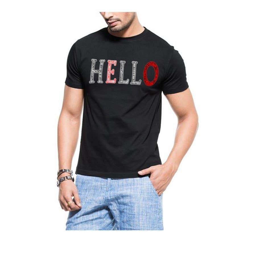 Inscrição nº 93 do Concurso para TC - Design a T-Shirt for Company