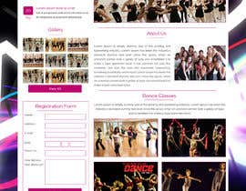 Nro 5 kilpailuun Build a Website for Dance School (Bollywood Dancing) including some content käyttäjältä ravinderss2014