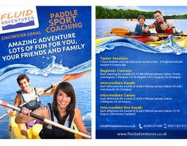 nº 24 pour Design a flyer for Summer Holiday Kayaking Courses par fecodi