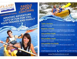 nº 26 pour Design a flyer for Summer Holiday Kayaking Courses par fecodi