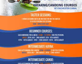 #14 untuk Design a flyer for Summer Holiday Kayaking Courses oleh pris