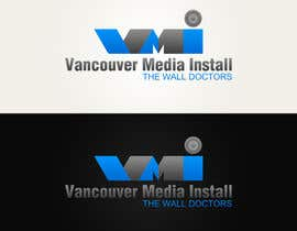 #40 untuk Design a Logo for Van Media Install - The Wall Doctors oleh CGSaba