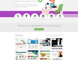 #15 untuk Design a Website Mockup for Trice Web Development oleh thecwstudio