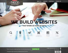 #20 for Design a Website Mockup for Trice Web Development by thecwstudio