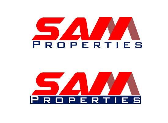 Bài tham dự cuộc thi #54 cho Design a Logo for Sam Properties