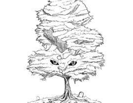 #20 for Pen and ink tree character af nishankumar