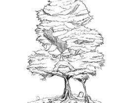 #29 para Pen and ink tree character por nishankumar