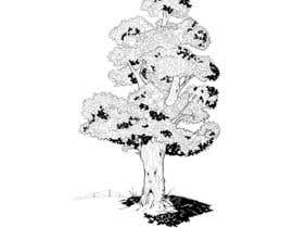 #21 para Pen and ink tree character por nufo