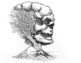 #24 para Pen and ink tree character por FLand