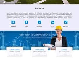 Nro 11 kilpailuun Design a Website Mockup for Architectural Tile Designs käyttäjältä KsWebPro