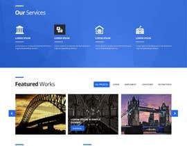 Nro 10 kilpailuun Design a Website Mockup for Architectural Tile Designs käyttäjältä zaxsol