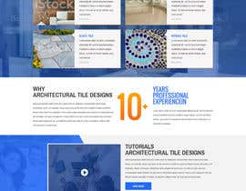 #5 cho Design a Website Mockup for Architectural Tile Designs bởi davidnalson