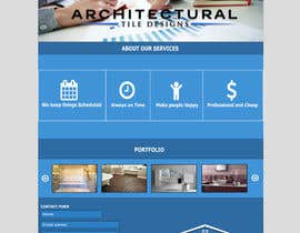 #12 for Design a Website Mockup for Architectural Tile Designs by dumitrugabriel