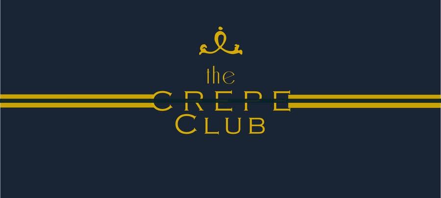 Inscrição nº 36 do Concurso para Design a Logo for The Crêpe Club + cart design