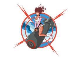 #35 untuk Roller Derby Girl illustration oleh lenssens