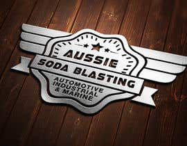 #33 untuk Design a Logo for 'Aussie Soda Blasting' oleh sinzcreation