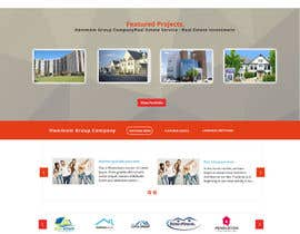 #1 for new website screendesign for real estate company by mahiweb123