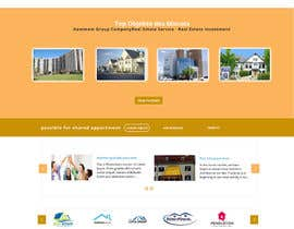 #32 for new website screendesign for real estate company by mahiweb123