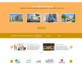 Nro 32 kilpailuun new website screendesign for real estate company käyttäjältä mahiweb123