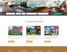#57 untuk new website screendesign for real estate company oleh webmastersud