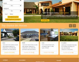 #61 for new website screendesign for real estate company by Mr305worldwide