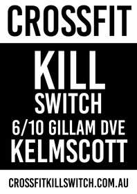 #16 for Design a Flyer for CROSSFIT KILLSWITCH af goranjokanovic