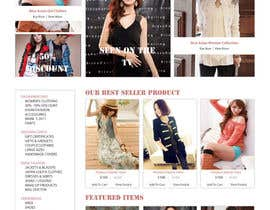 nº 47 pour Website Design for VIVI Clothes par dragnoir