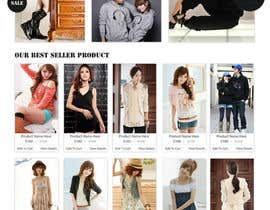 #13 for Website Design for VIVI Clothes by dragnoir