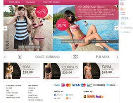 nº 50 pour Website Design for VIVI Clothes par darila
