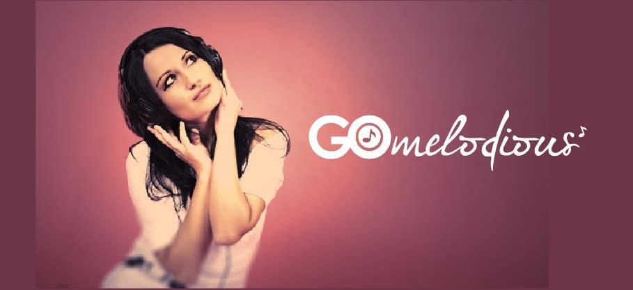 Kilpailutyö #27 kilpailussa Design a Logo for GoMelodious