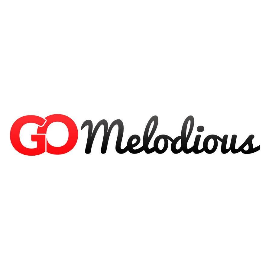 Kilpailutyö #19 kilpailussa Design a Logo for GoMelodious