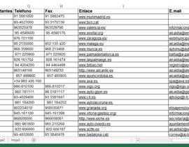 #11 cho Busqueda de datos Ayuntamientos de España bởi miniikas