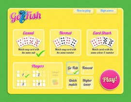 alknight tarafından Design a new menu screen for Go-Fish App için no 16
