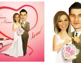 bgeraschenko tarafından Cartoon wedding couple için no 19
