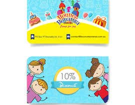 #47 untuk Design some Business Cards for Bounce Bonanza oleh timimalik