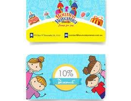 #47 para Design some Business Cards for Bounce Bonanza por timimalik