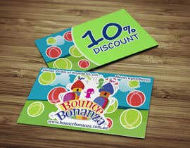 #36 untuk Design some Business Cards for Bounce Bonanza oleh Nordison