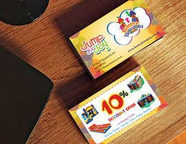 #34 para Design some Business Cards for Bounce Bonanza por sami24x7