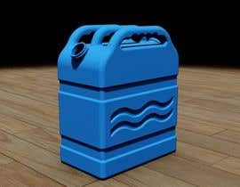 #29 for Design and 3D-Modelling of a Water Canister by farsadbabazadeh