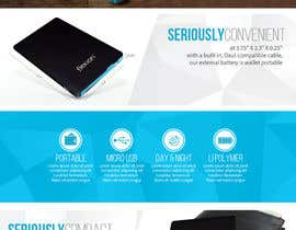 #4 para I need an infographic for a Portable Battery por HasithaCJ