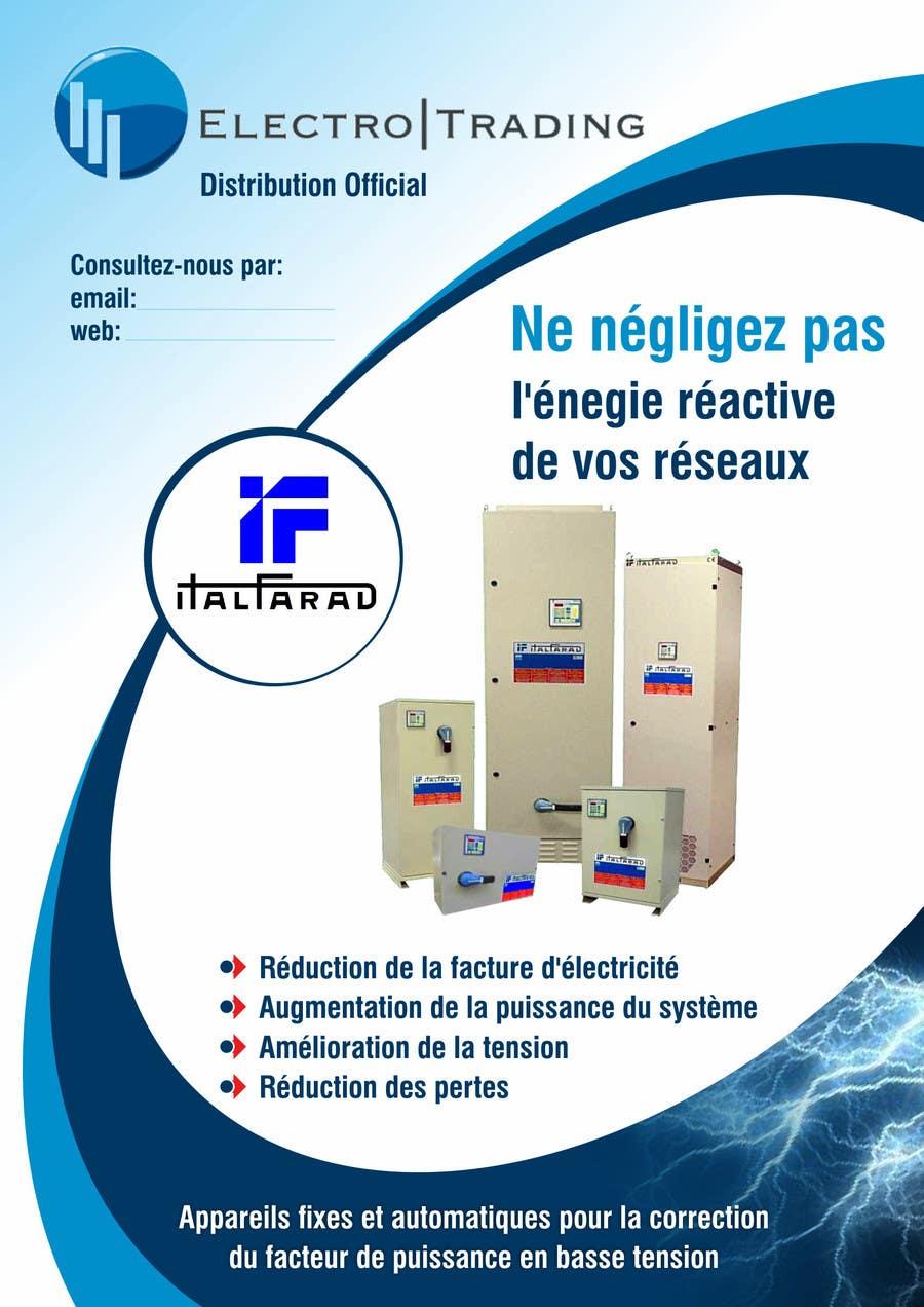 #30 for Concevez un flyer for ELECTRO TRADING - ITALFARAD by ezesol